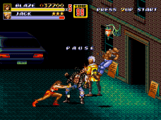 Streets of Rage 2 mania mode