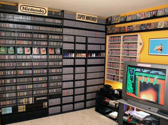 Coleção de games de Aaron Norton