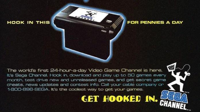 Sega Channel ad