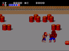 Double Dragon (Master System) - Fase 1 Abobo