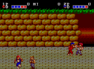 Double Dragon (Master System) - Fase 1