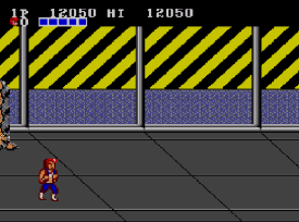 Double Dragon (Master System) - Fase 2