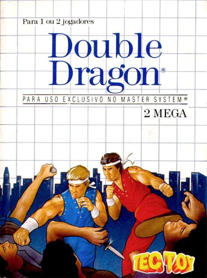 Double Dragon (Master System) cover