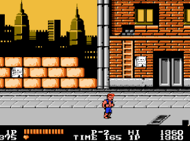 Double Dragon (NES) - fase 1