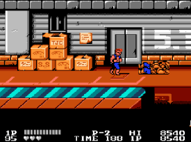 Double Dragon (NES) - fase 2