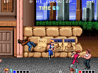 Double Dragon (arcade) - fase 1