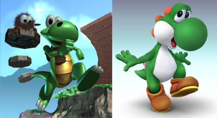 Croc e Yoshi