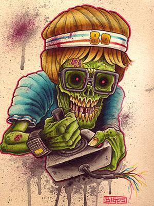 Atari Zombie, de Mike Biggs