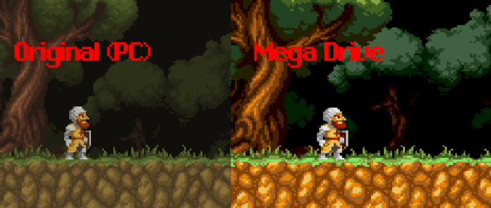 Maldita Castilla windows mega drive