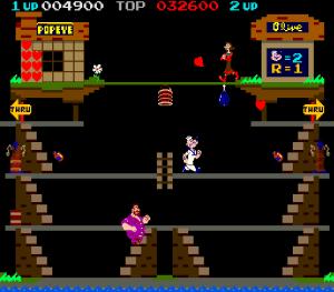popeye arcade nintendo