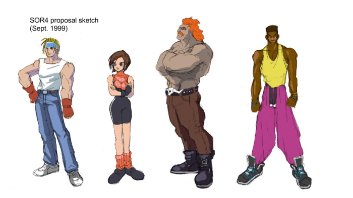 Streets of Rage 4 concept 2