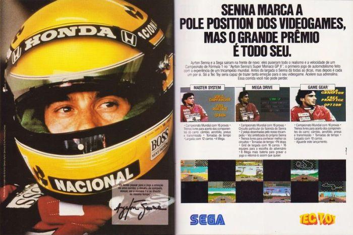 Super Monaco GP II Ad