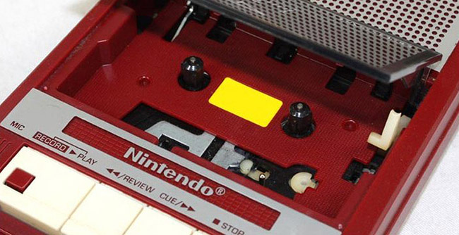 Famicom cassette recorder