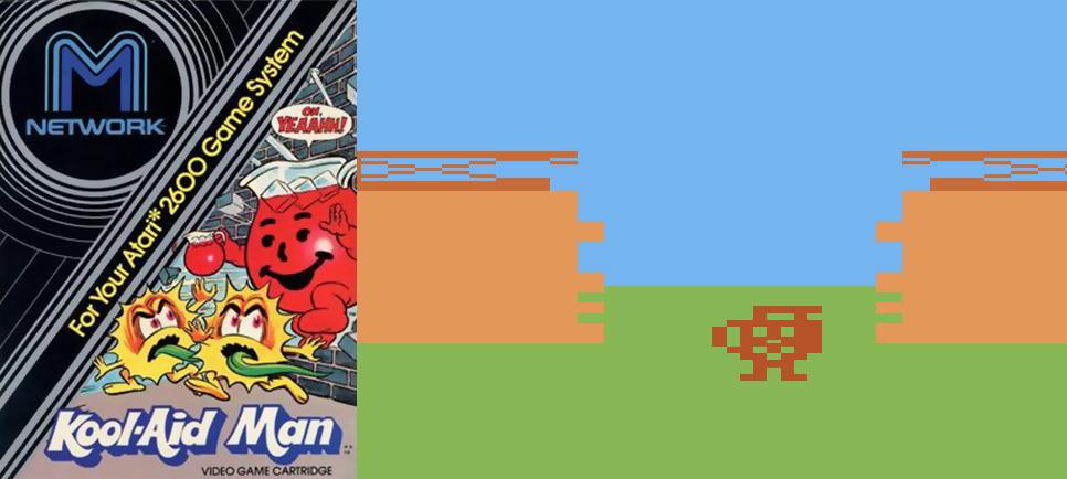 Kool Aid Man Atari 2600