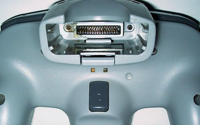 N64 controller slot