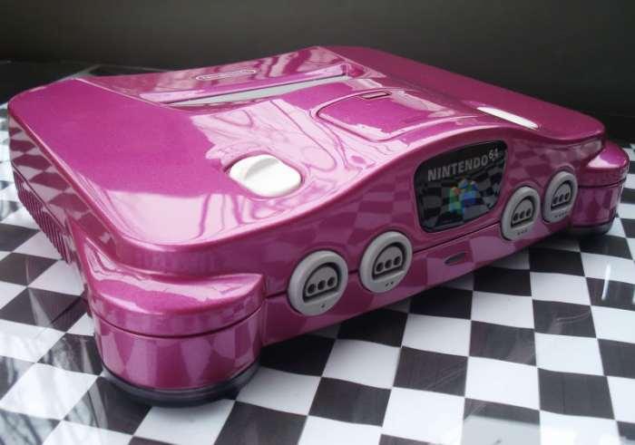 Nintendo 64 pink de Zoki64