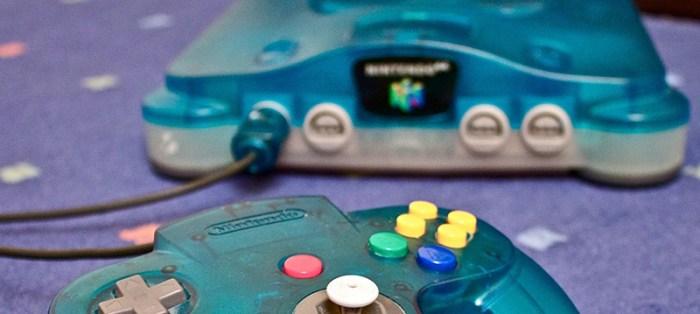 [Tópico Oficial] A Historia de cada Videogame.  Nintendo_64_Clear_Blue