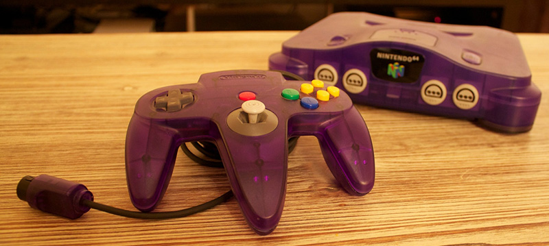 Nintendo 64 Grape Purple