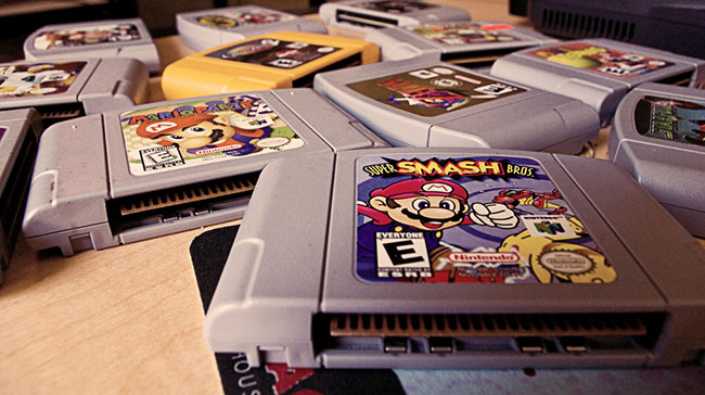 [Tópico Oficial] A Historia de cada Videogame.  Cartuchos-Nintendo-64