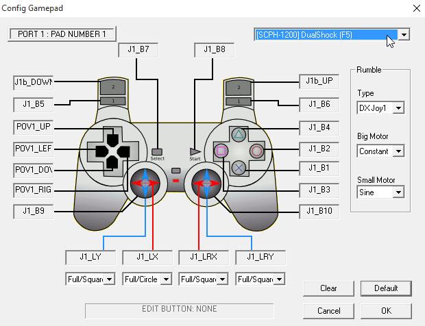 controle xbox 360 emulador playstation epsx
