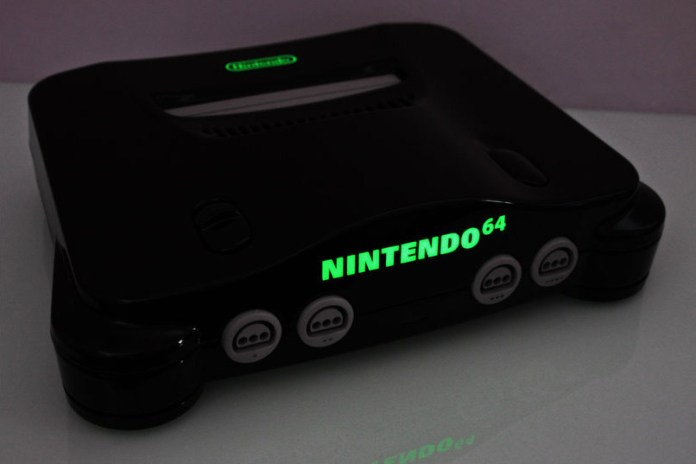 custom piano black nintendo 64 zoki64 2