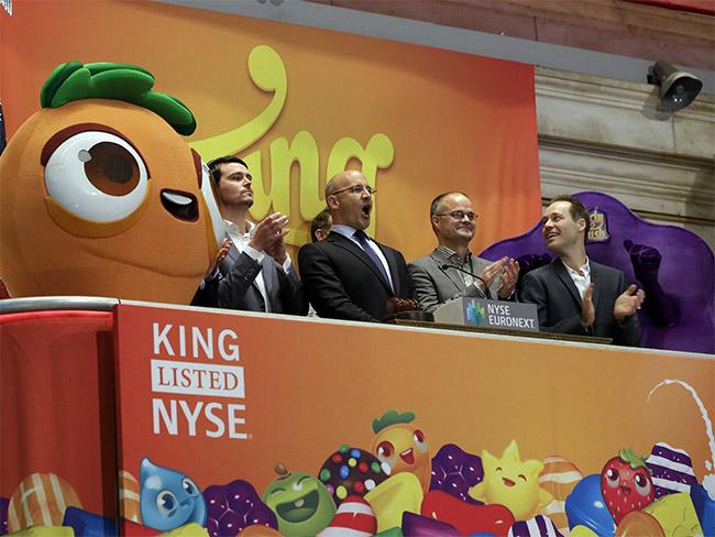 No IPO (oferta inicial de ações) da King, o destaque foi, claro, Candy Crush.