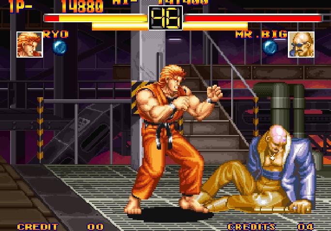 Art Of Fighting Neo Geo Memoria Bit