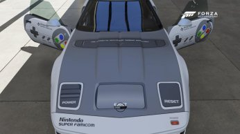 Forza 6 Corvette Super Famicom