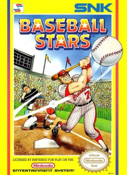 baseball stars nes caixa arte