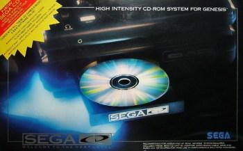 caixa sega cd americano