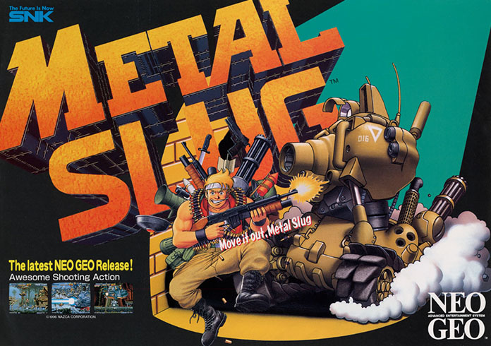 metal slug flyer arcade