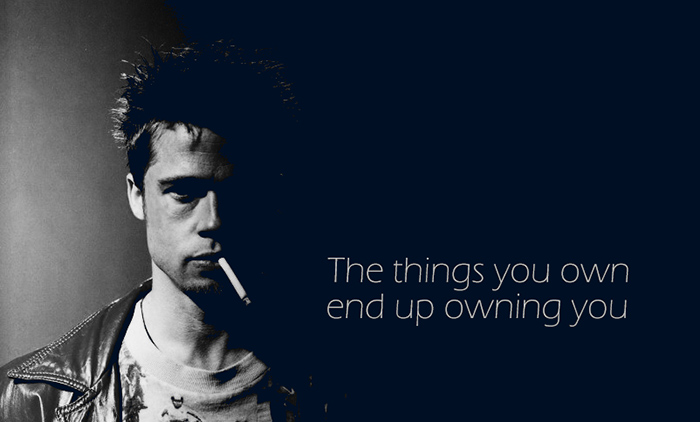 tyler durden things you own