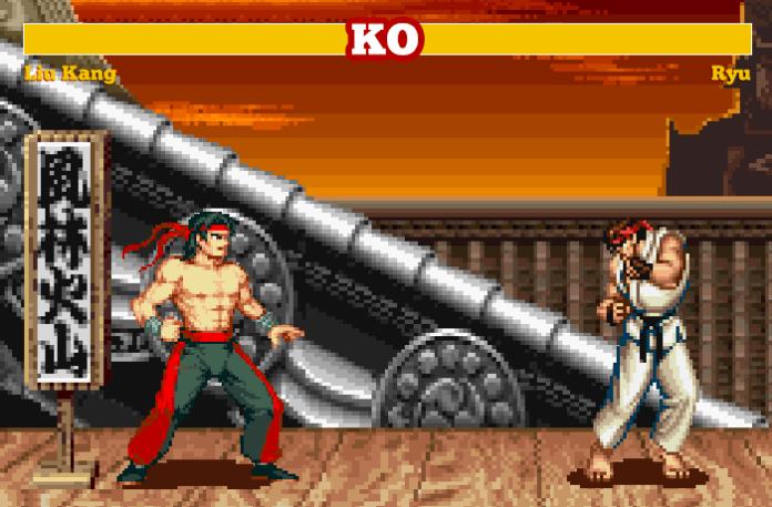mashup_mortal kombat street fighter