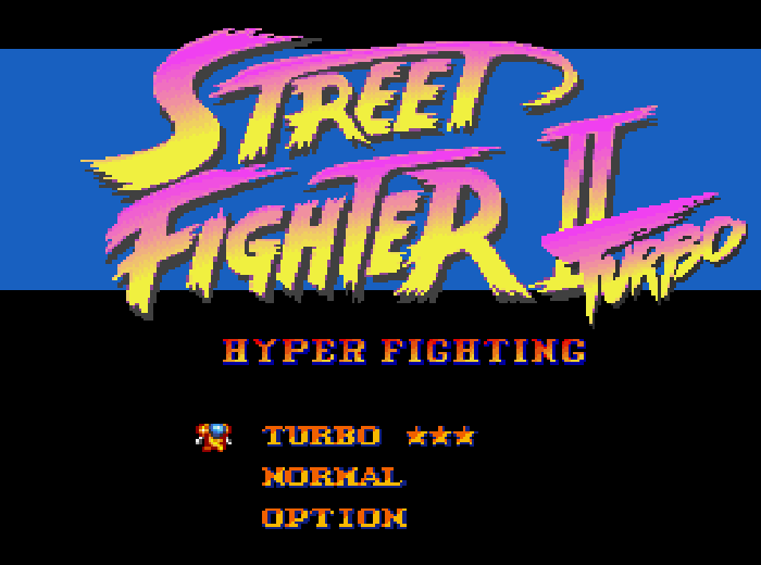 street fighter turbo snes