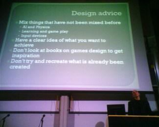 Dicas de design de Molyneux: