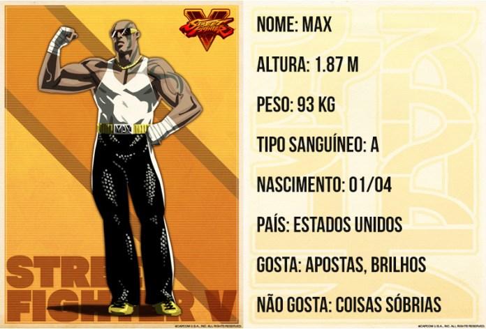 street fighter max bio