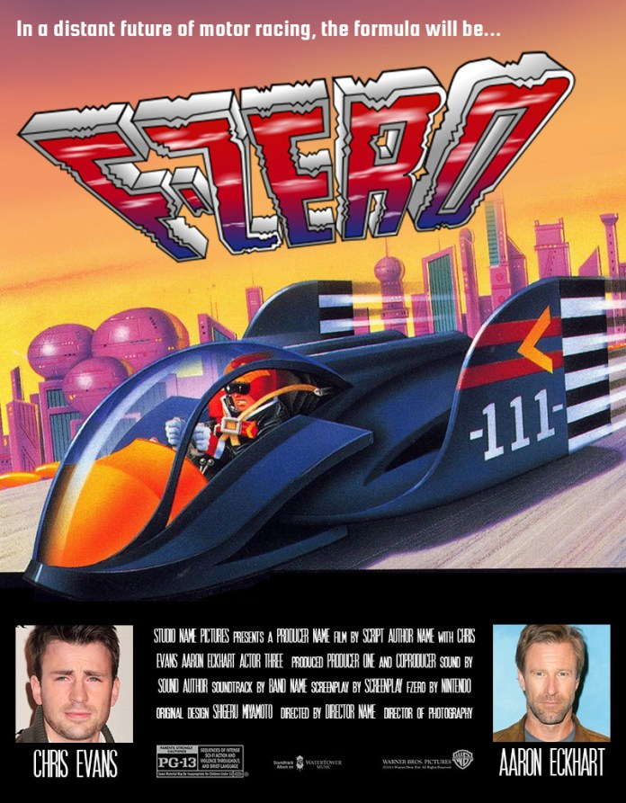 fzero the movie fake poster