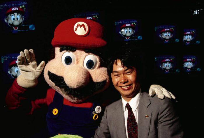 Em 1992, Miyamoto já era considerado um gênio do game design. Foto: Computer History Museum.