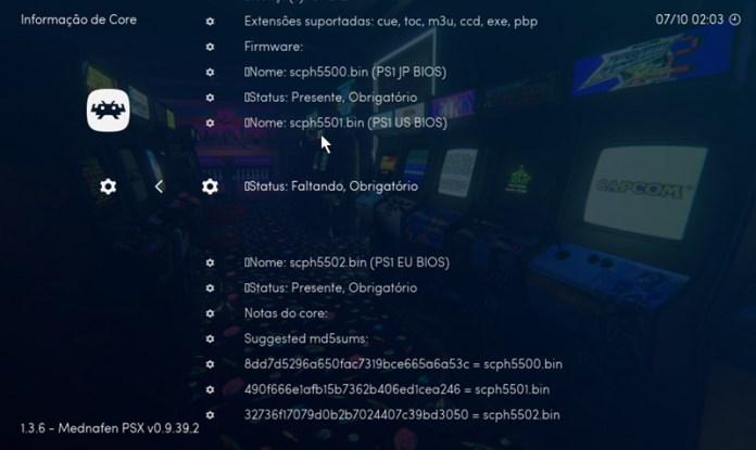 Emulação: download e configuração do RetroArch - Memória BIT