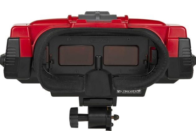 Visores do Virtual Boy.