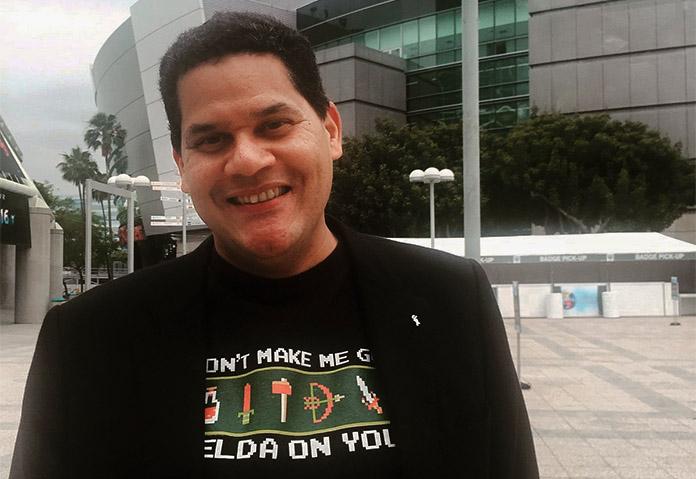 Reggie Fils-Aime Zelda