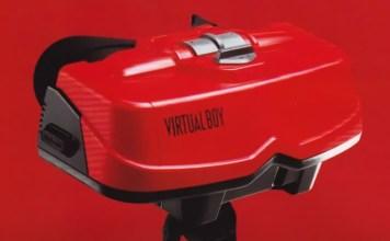 Virtual Boy (sem o suporte).