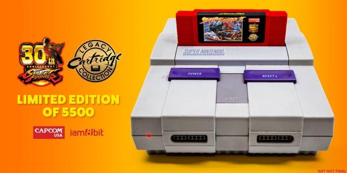 Street Fighter II SNES relançamento