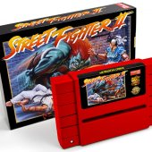 Street Fighter II SNES relançamento cartucho