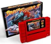 Street Fighter II SNES relançamento cartucho