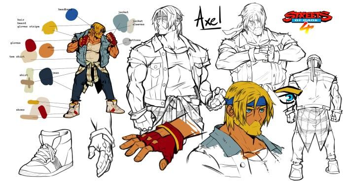 Artwork SoR4 Axel