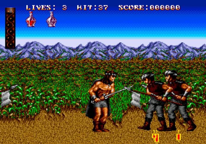Sword of Sodan no Mega Drive