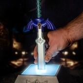 Zelda Master Sword luminária