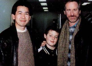 Yu Suzuki com Steven Spielberg