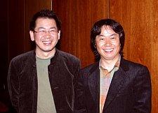 Yu Suzuki e Shigeru Miyamoto
